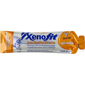 Xenofit Carbohydrate Hydro Gel Mischbox Orange/Maracuja/Cola 21 x 60 ml